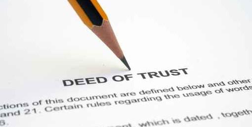 Deed of trust